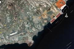 517 El Medano Google Maps mit Hafenprojekt